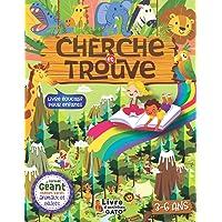 Cherche et trouve géant Animaux livre éducatif enfant 3-6 ans: Livre de jeux et d'activités ludiques filles et garçons…