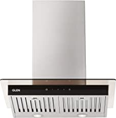 Glen 60cm 1000 m3/hr Chimney (CH6062SXTS60BFLTW, 3 Baffle Filters, Touch Control, Steel/Grey)