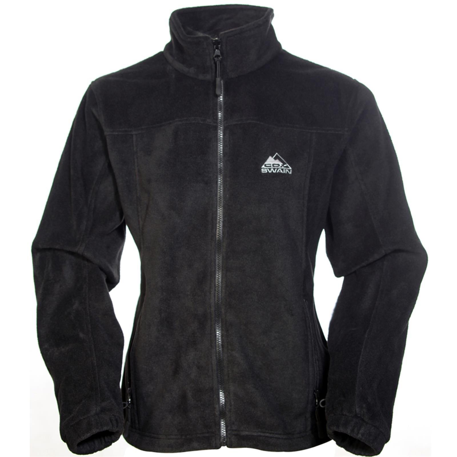 COX SWAIN women fleece jacket OAKS, Colour: Black, Size: L