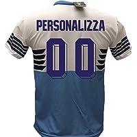 Maglia Calcio Lazio Personalizzabile Replica Autorizzata 2018-2019 Bambino (Taglie 6 8 10 12) Adulto (S M L XL)