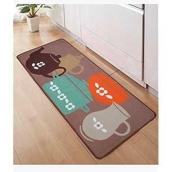 FHG Tappetini da Cucina, Lunghe Strisce di tappeti Ikea assorbenti ...