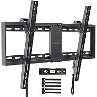 Perlegear Support Mural TV Inclinable pour LED, LCD, OLED, TV à Écran Plat De 37 à 82 Pouces – Support Mural Ultra…