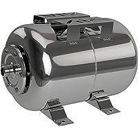 Edelstahl Membrankessel Druckkessel Hauswasserwerk Ausdehnungsgefäß (24 Liter)
