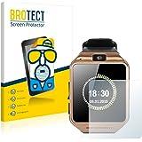 brotect Pellicola Protettiva Opaca Compatibile con Gearmax Smartwatch DZ09 Pellicola Protettiva Anti-Riflesso (2 Pezzi)