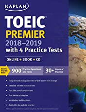 TOEIC Premier with 4 Practice Tests