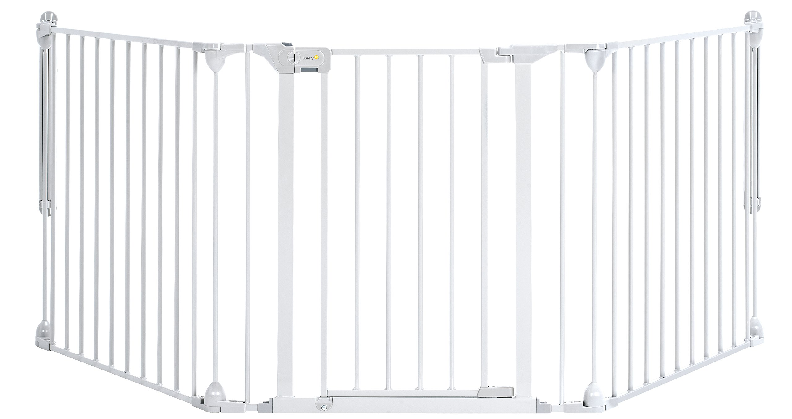 Safety 1st Modular 3 Multi-Panel Gate, White  Safety 1st