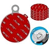 Anteel Dashboard Pad Montage Disk Sticky Adhesive Vervanging Kit, 6 stks 80mm Cirkel Hittebestendige Dubbelzijdige Stickers v