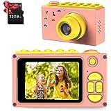 ShinePick Kinder Kamera, Digitalkamera Kinder, 8MP / HD 1080P / 2 Inch Bildschirm / Foto & Video / Rahmen / Filter, Kinder Fo
