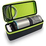 Tizum Travel Portable Hard Case Pouch for Amazon Echo (Black)
