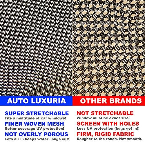 Auto Luxuria Cubierta universal parasol para ventana del coche - Protección UV...