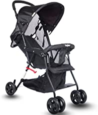 Baybee Shade - Baby Buggy Stroller (Grey)