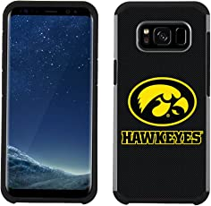 Prime Brands Group Textured Team Color Cell Phone Case for Samsung Galaxy S8 - NCAA Licensed University of Iowa Hawkeyes