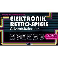 FRANZIS Elektronik Retro Spiele Adventskalender 2020 | 24 Spiele der 70er und 80er zum Selberbauen ohne Löten | Jeden…