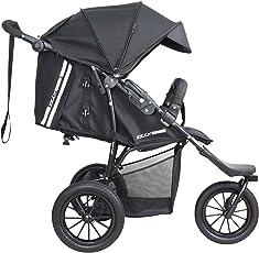 knorr-baby 883050 Rad-Sportwagen, Joggy Novo Active, schwarz