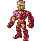 Playskool Heroes Mega Mighties Marvel-superheldavonturen Iron Man, actiefiguur van 25 cm om te verzamelen, speelgoed voor kin