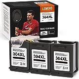 3 LEMERO SUPERX Cartouches d'encre Remanufacturées pour HP 304XL 304 XL pour HP Envy 5020 5030 5032 Drucker HP DeskJet 3720 3