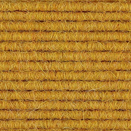 Teppichboden Teppich-Fliese | Tretford Interland ECO | 50x50 cm | gelb 568