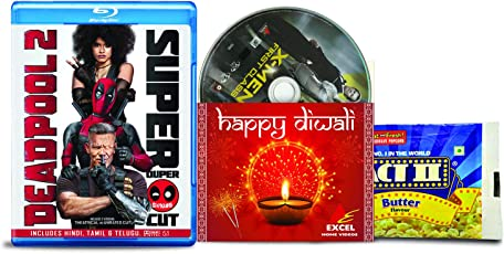 Deadpool 2 + Super Duper Cut (Unrated) (2-Disc) + X-Men First Class - 2 English Movies (3 Blu-ray bundle offer)