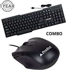 Prodot kb-207s USB Keyboard with Mouse