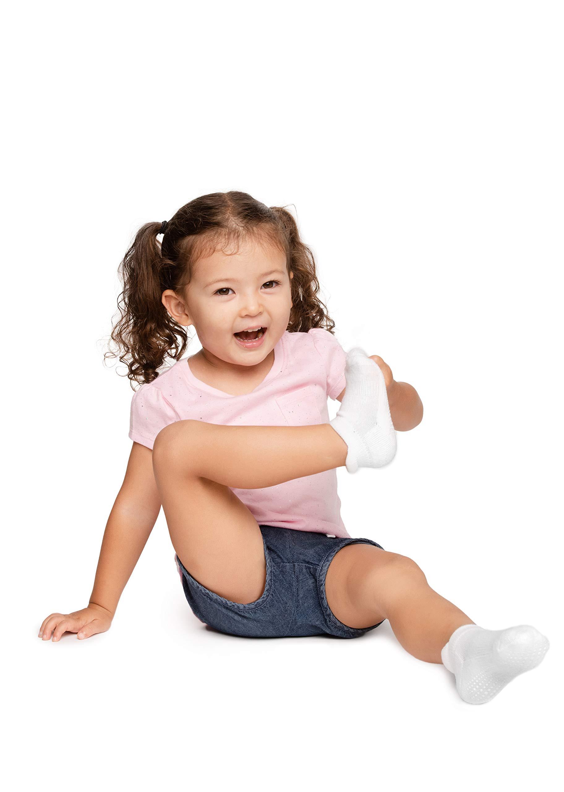 LA Active Tobillera Calcetines Antideslizantes - para Bebé Niños Niñas Infantil Recién Nacido 5