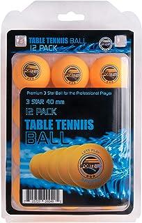 Officiel Penn 6-PK 40 Mm Balles de tennis de table orange Ping Pong 3 étoiles professionnel
