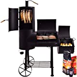 Syntrox Germany Barbecue Smoker BBQ Smoker Charcoal BBQ Grills
