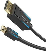 KabelDirekt - Mini DisplayPort (Thunderbolt) naar DisplayPort kabel (Mini DP naar DP) (UHD resolutie met 4K / 60Hz, versie 1