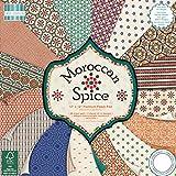 "First Edition Morrocan Spice Premium Paper Pad 12""x12"" 48 Sheets (FSC)"