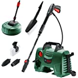 Bosch 06008A7972 High Pressure Washer EasyAquatak 120 (1500W, Home and Car Kit Included, Max. Flow Rate: 350l/h, in Cardboard