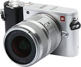 YI M1 4K Video 20 MP Mirrorless Digital Camera with Interchangeable Lens 12-40mm F3.5-5.6 Ice Silver(US Edition)
