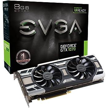 EVGA GeForce GTX 1070Gaming nero Real Boost Clock: 1683 MHz