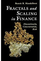 Fractals and Scaling in Finance: Discontinuity, Concentration, Risk: E (Selecta) Hardcover