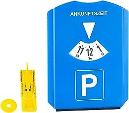 PEARL Reifenprofilmesser: Parkscheibe mit Eiskratzer, Einkaufs-Chip und Profilmesser (Profiltiefenmesser)