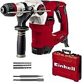 Einhell Boorhamer TE-RH 32 4F Kit (1250 W, 5.0 joule, 32 mm boorcapaciteit in beton, SDS-Plus, anti-vibratie handvat, incl. E
