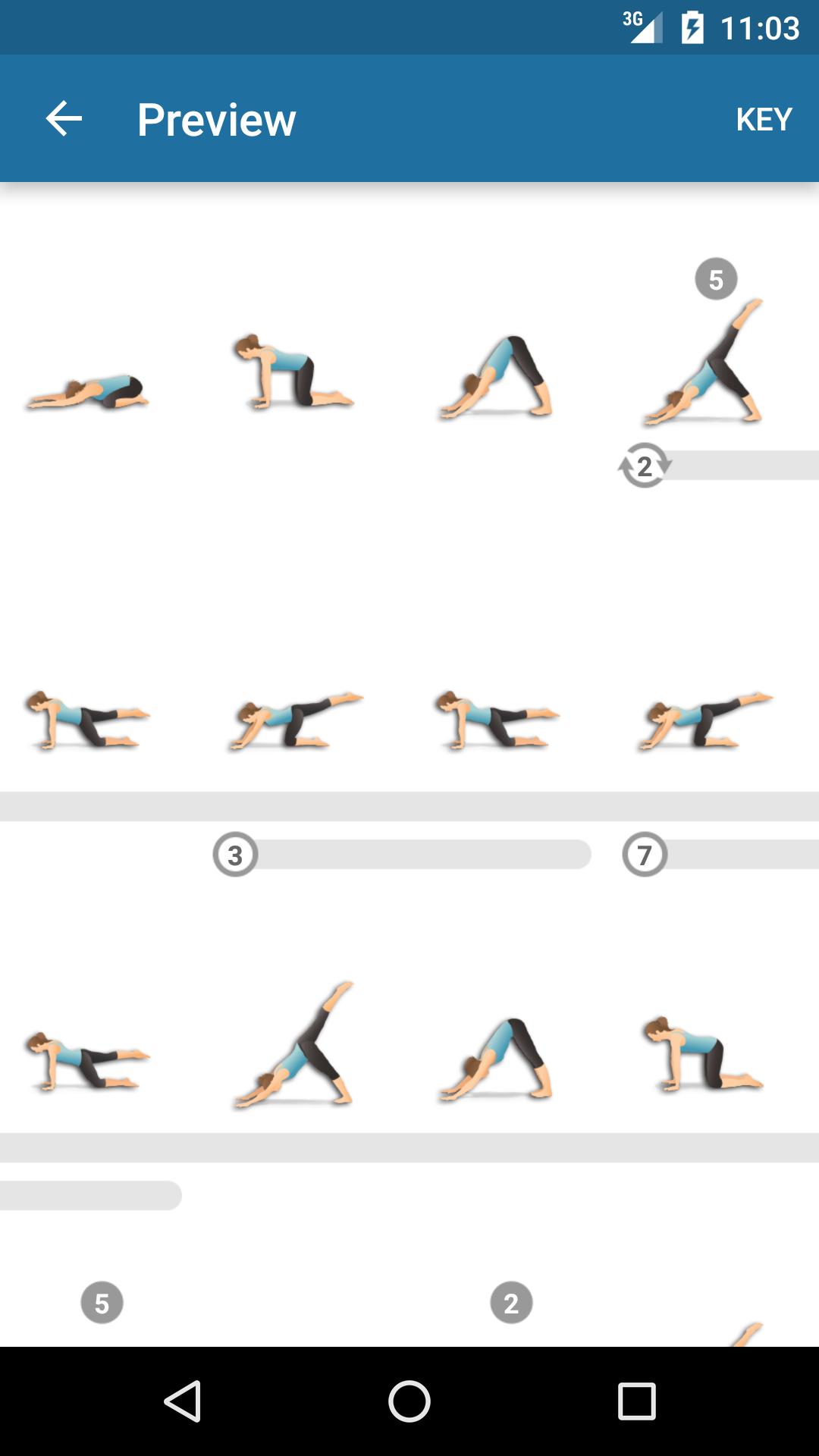 Pocket Yoga Capture d'écran