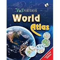 World Atlas: Government Approved Maps of India and the World, for Exams & Competitions, in Colour