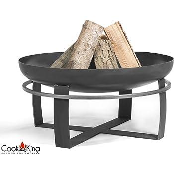 COOK KING BBQ Grill Feuerschale Feuerstelle Montana Edelstahlrost 70 cm ***NEU