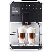 Melitta Barista T Smart, F831-101, Argent, Machine à Café, Expresso et Boissons Chaudes Automatique, Broyeur Silencieux…