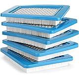 AGPTEK Set van 5 luchtfilters voor Briggs Stratton Quantum 491588 491588 4915885 399959 Premium permanente vervangende luchtf