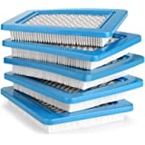 AGPTEK Set di 5 Filtro Aria Mower di Ricambio, Filtro Aria di Ricambio Durevole di Ricambio Filtro dell'Aria per Briggs…
