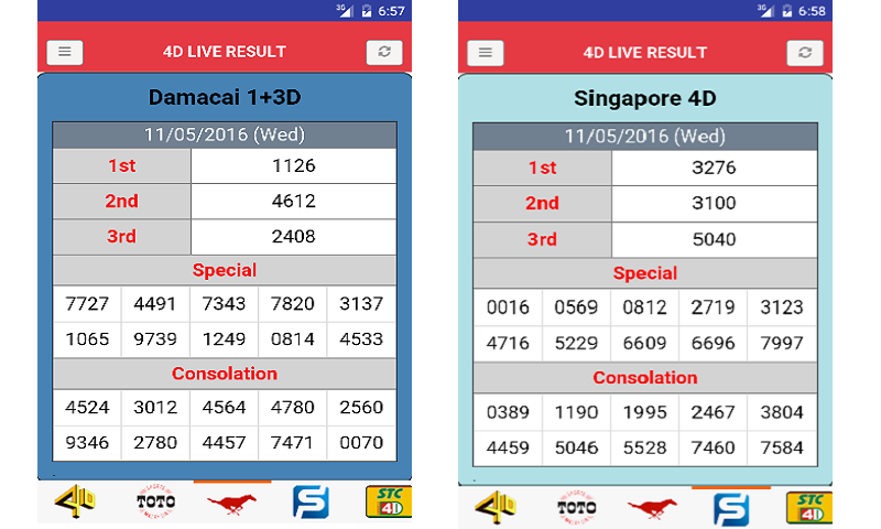 Live 4D Result (MY & SG): Amazon co uk: Appstore for Android