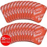 JOINVALUE EMS Abs Replacement Pads, Abs Trainer Replacement Gel Sheet Abdominal Toning Belt Muscle Toner Ab Trainer Accessories 30pcs Gel Sheets For Gel Pad