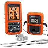ThermoPro TP20 Thermomètre de Cuisson Numérique à Distance avec Sondes Double Minuterie et Température Préréglée pour Les Ali