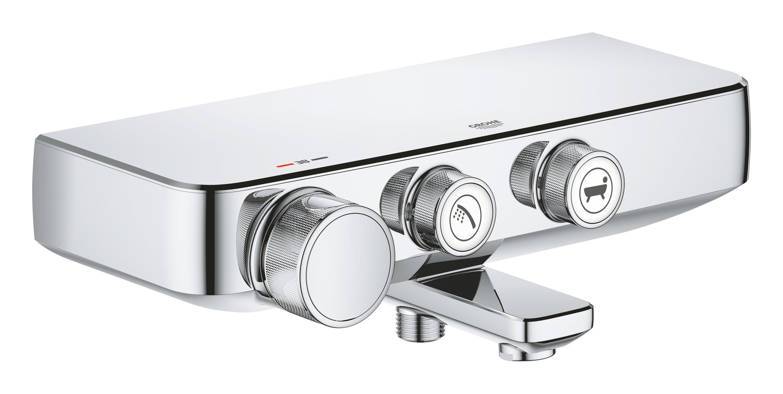 Grohe 34718000 Mitigeur Thermostatique Bain/Douche, Grohtherm Smartcontrol, Chromé (Import Allemagne)