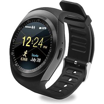 SoloKing T90 Relojes Inteligentes para Android 4.3 y iOS 7,Smartwatch Teléfono Reloj Deportivo con
