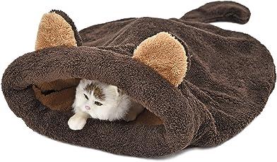 """Pawz Road waschbarer Schlafsack Katzek?rbchen Zelt Hundebett f¨¹r Katze und Kleinen Hund 20""""*22"""""""