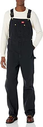 Dickies Men's DB100 - Bib Overall Wide Leg Dungarees