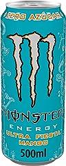 Monster ENERGY Ultra Fiesta Mango - Bebida energética sin azúcar - Lata 500 ml.