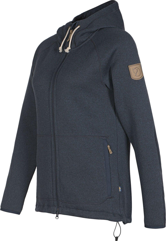 71zJ7BBYSmL - Fjällräven Övik Women's Fleece Hoodie Fleece Jacket