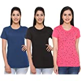 69GAL (105Women T-Shirt (Multicolors) (Pack of 3) (S/M/L/XL/3CL/5XL)